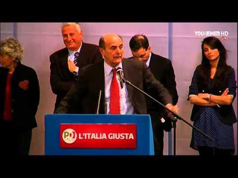 L'Italia Giusta – Pier Luigi Bersani a Catania – DIRETTA