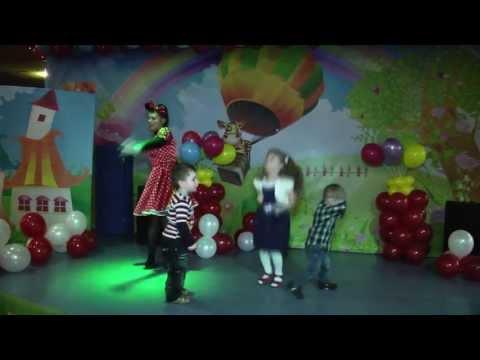Видеосъемка детского дня рождения в Крейзи Парке