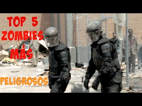 THE WALKING DEAD | TOP 5 Zombies más Peligrosos