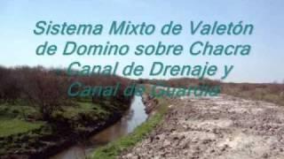 Sistema Valetón Riego- Canal de Guardia y Drenaje en ROU.wmv