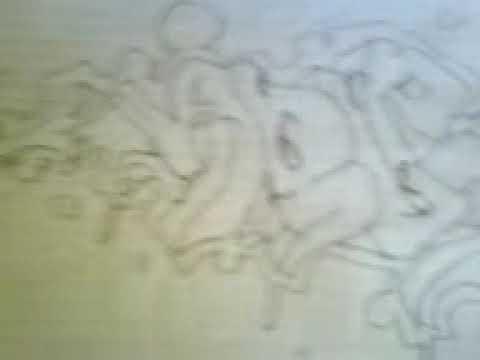 graffiti en papel cocho en accion arlen