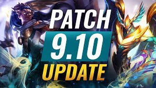 NEW UPDATE: Best Champions TIER LIST – League of Legends Patch 9.10