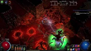 Path Of Exile - Detonate Dead Trapper Elementalist Atziri Run (2.6)