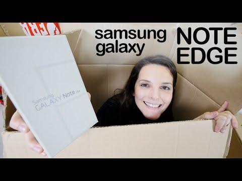 Samsung Galaxy Note Edge unboxing en español