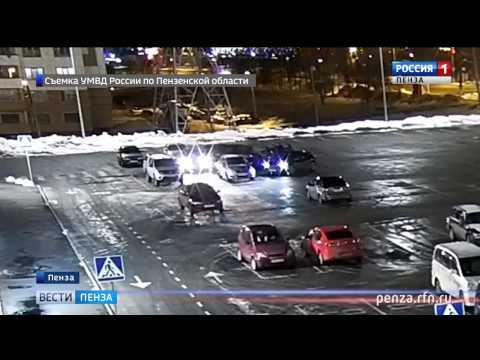 В Пензенской области в ходе погони задержан наркокурьер из Саратова: видео захвата