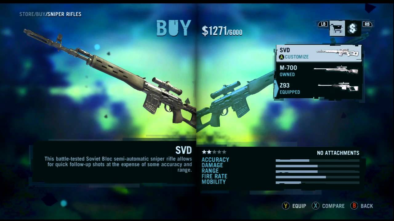 Far Cry Weapons Far Cry 3 All Weapons More
