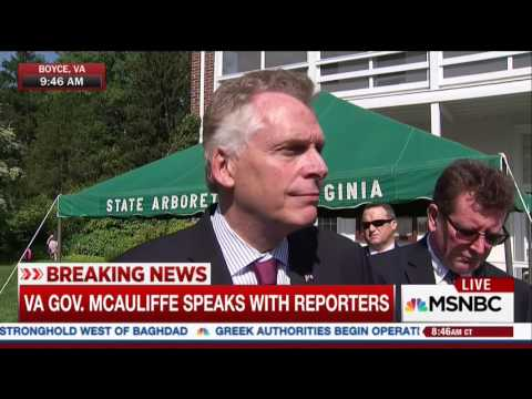Terry McAuliffe: An FBI Investigation Doesn't Mean I Have Done Anything Wrong