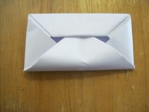 How To Make An Envelope Without Glue Or Tape Hd Youtube