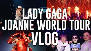 Lady Gaga Joanne World Tour Vlog / Birmingham, U.K (Jan 31st) FRONT ROW