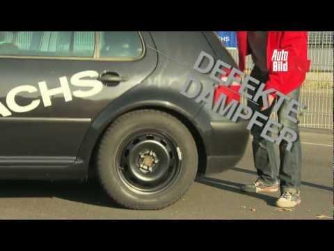 AUTO BILD-Ratgeber - Defekte Stoßdämpfer