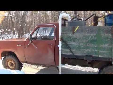 gasifier in 76 Dodge power wagon 360cid