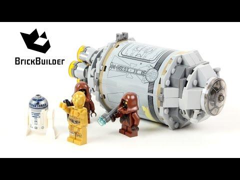 Lego Star Wars 75136 Droid Escape Pod - Lego Speed Build