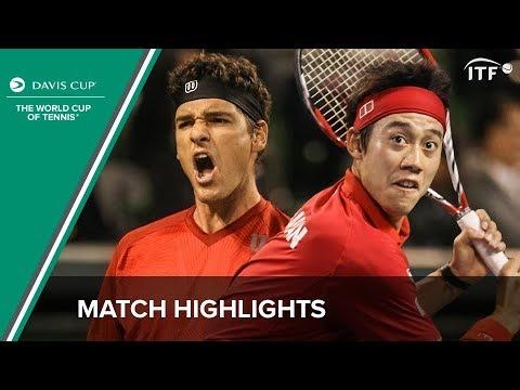 Highlights: Kei Nishikori (JPN) v Frank Dancevic (CAN)
