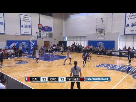 Brandon Paul Shows His 3's! | Mavs vs Thunder | July 5, 2017 NBA Summer League 2017