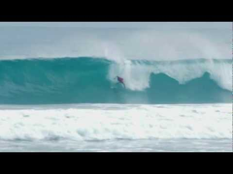 Eric Osterlund; double barreled and wiped out at Coco Pipe - Dominican Republic - by Soloshot
