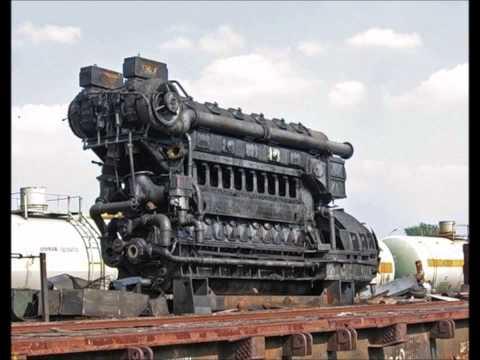 1 Hour Relaxing Engine Sound (diesel electric locomotive 2TE10)