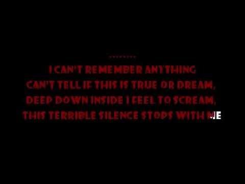 One - Metallica Karaoke video