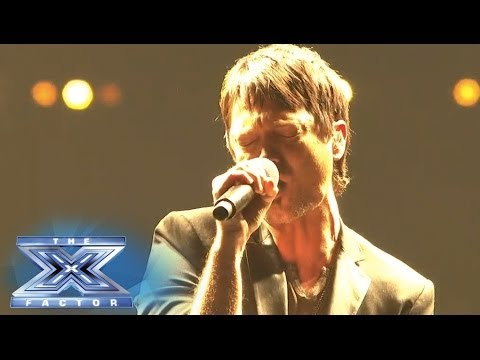 "Jeff Gutt stands alone and rocks ""Without You"" - THE X FACTOR USA 2013"