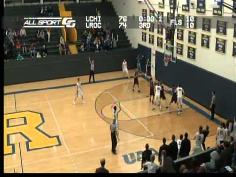 Rochester Men's Basketball Mack Montague Game Winner