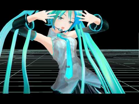 Mmd - Adult Miku Galaxias video