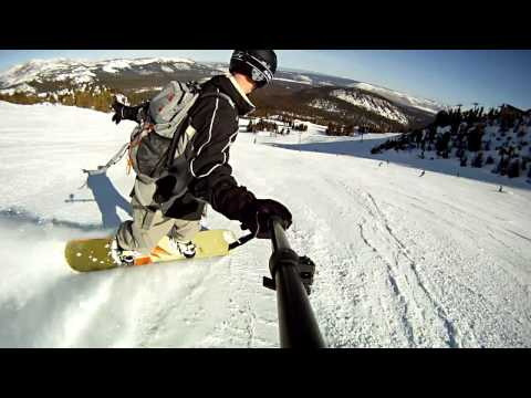 Skiing and Snowboarding Mammoth Mountain 2012 (GoPro HD)