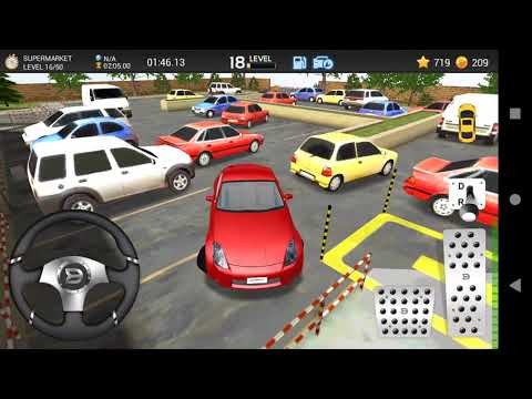 Car Parking Game 3D - Nissan 350Z - Level Supermarket - 16 - 20 - Android Game - Full HD Quality