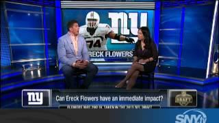 David Diehl talks New York Giants draft