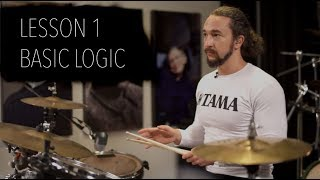 Double Bass Drum Lesson 1 - Basic Logic