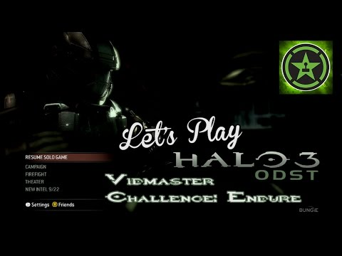 Let's Play - Halo 3 ODST (Vidmaster Challenge Endure)