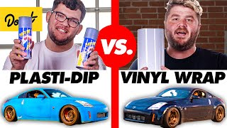 $535 Plasti Dip vs. $3,000 Vinyl Wrap | HiLow