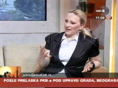 Sanja Milakovic, appearance at TV Studio B