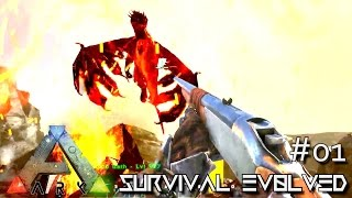 ARK: ANNUNAKI GENESIS MOD - DRAKE HUNTING !!! E01 (Gameplay POOPING EVOLVED)