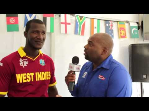 Darren Sammy reacts to #CWC15 opener