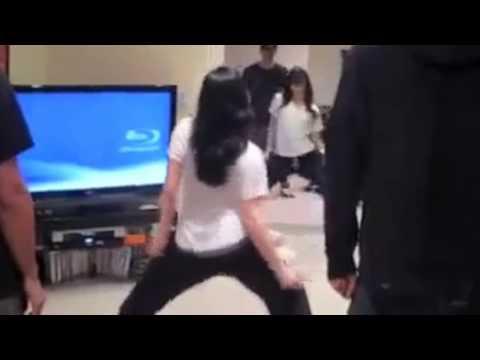 Demi and Selena Grind on me [HD]
