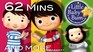 Clap Your Hands | Plus Lots More Nursery Rhymes | 62 Minutes Compilation from LittleBabyBum!
