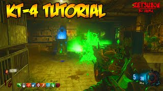 "BLACK OPS 3 ZOMBIES ""ZETSUBOU NO SHIMA"" KT-4 WONDER WEAPON TUTORIAL GUIDE (HOW TO BUILD KT-4) (BO3)"