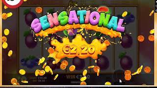 Online Casino Slot Extra Juicy Big WIn Bonus