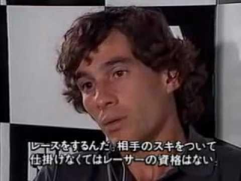 Stewart Interview Senna Ayrton Senna Interviewed by
