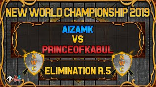 [AoE3] NWC! Aizamk vs PrinceofKabul [Elimination Round 5] - New World Championship Qualifiers
