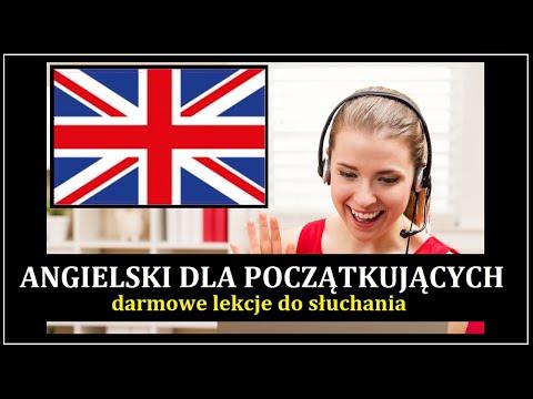 ANGIELSKI DLA POCZĄTKUJĄCYCH - Darmowe Lekcje Angielskiego Mp3 (cz.1 - Mówienie O Sobie)