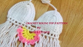 HOW TO CROCHET BIKINI TOP TUTORIAL -1
