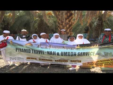 Youtube paket umroh haji pyramid travel