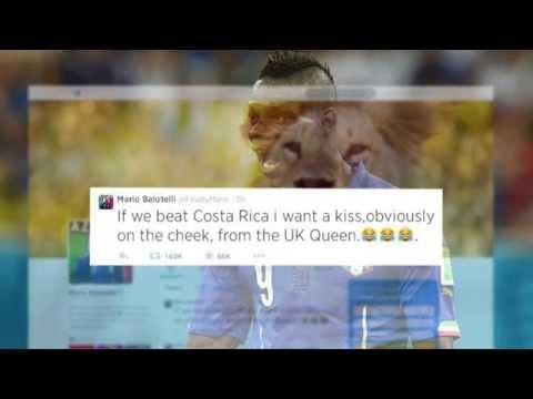 Mario Balotelli will Knutscher von der Queen | Italien - Costa Rica | FIFA WM 2014 Brasilien