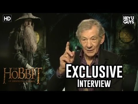 Ian McKellen Interview - The Hobbit: An Unexpected Journey