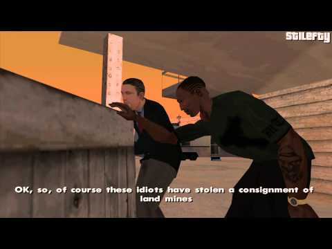 GTA San Andreas - Mission #71 - Stowaway