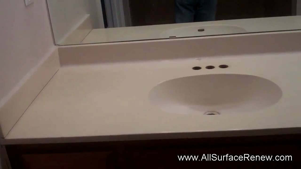 How Can I Renew A Cultured Marble Vanity We Show You