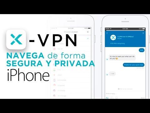 X-VPN. navega de forma segura y privada desde tu iPhone
