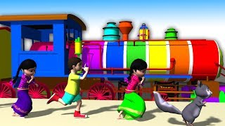 Telugu Rhymes for Children Chuk Chuk Railu Vastundi Lot More Boo Boo Bells Baby Songs