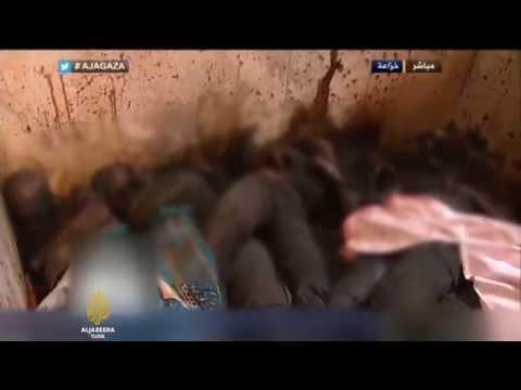 Gazze: Huzaada toplu infaz