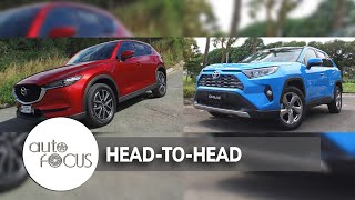 Auto Focus | Head to Head: Toyota RAV4 2.5 LTD VS. Mazda CX-5